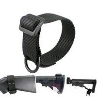 Buttstock Tactical Sling Loop Adapter Schultergurt für Schrotflintengewehr