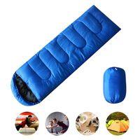 Открытый спальный мешок для кемпинга конверт спальный мешок термальный взрослый открытый путешествия водонепроницаемый кровать