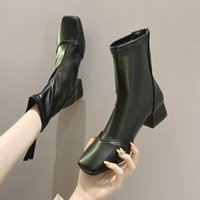 Women' s Boots Autumn Rock Shoes Woman Luxury Designer L...