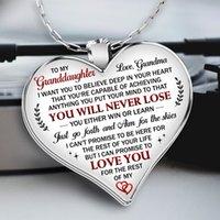 S1831 Hot Bijoux Fashion Amour Pendentif Coeur Collier pour femme ma fille Sun Love Dad Mon Coeur Pull Collier