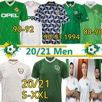 Ирландия футбольные трикотажки 2020 21 Национальный ретро 1988 90 92 94 98 чемпионат мира Винтаж классический McGoldrick Duffy Hendrick Doherty футбольная форма