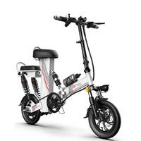 E Scooter Electric Electric Bicycles 48V 350W 120KM Foldable Electric Bike Ladies adults With Double Suspension Brake