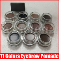 11 colors eyebrow Pomade Medium Brown Waterproof Eyebrow Cre...