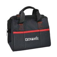 Bolsa de herramientas GOXAWEE Bolsas impermeables Viaje Crossbody Almacenamiento Plegable Hombro Capacidad grande para herramientas Hardware