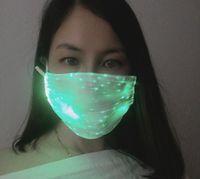 Светодиодная мода светящаяся маска с PM2.5 фильтр светящийся восторванный музыкальный вечеринка Brethday Halloween свет