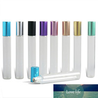 12ml Refillable Empty Stainless Steel Metal Roll on Bottles ...