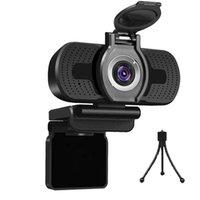 1080P Компьютерная камера Веб-камера с крышкой шумоподавление микрофона Камеры Прямая трансляция видео Вызов конференции Работа