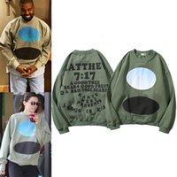 2020 hombres Domingo Kanye West hip hop Jesús es Rey Jamaica sudaderas con capucha para hombre abrigos de invierno camisa larga de las mujeres T hombre diseñadores suéter encapuchado