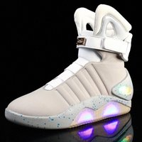 Strongshen Charging USB LED enfants chaussures avec éclaireurs d'enfants Casual Boysgirls Sneakers lumineuses Sneakers rougeoyant Enfant Taille 39-45 # 2W99