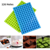 In Stock, 126 Lattice Square Ice Molds Tools Jelly Baking Sil...