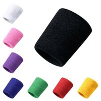Suporte de pulso tênis tênis esporte pulseira vôlei gym brace banda de suor toalha bracelete protetor 1 pcs