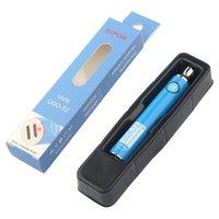 Vape Kalem Pil Ugo-T2 Çift Şarj Portu 650mAh 900 mAh Pil Kartuşları Piller Buharlaştırıcı 510 Konu Ayarlanabilir Gerilim Piller