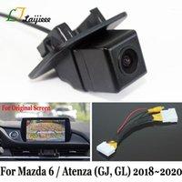 Auto Rückansicht Kameras Parking Sensoren für 6 Sedan Atenza GJ GL Facelift 2021/28 Pin Schnittstelle OEM Monitor 6V HD Rückfahrkamera1