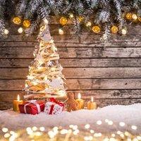 Рождественский фон зима снег подарок подарок древесины доска фотографии фона фото студия фотоБетов фото