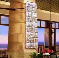 Lampe murale en cristaux de cristaux de cristal Fashion Fashion à côté de mur Sconce Hall Lampe de cristal de rectangle en métal LED de la lumière