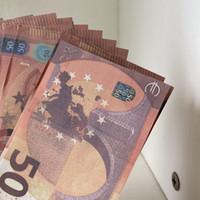 Zählen Qualität High Money Kids Pretend Geld Geld für Euro Fake Requisiten 50 Euro, Gefälschter Film 02 SQNVV