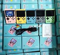 800 في 1 المحمولة المحمولة لعبة فيديو وحدة التحكم الرجعية 8 بت لعبة اللاعبين ألعاب 3 بوصة ألعاب av مع اللون lcd مع حزمة البيع بالتجزئة في المخزون