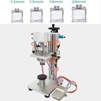 Masaüstü Parfüm Şişesi Kapaklama Makinesi Pnömatik Parfüm Şişesi Sıkma Makinesi Manuel Pnömatik Parfüm Kapaklama Makinesi Sıvı Sprey Bottl