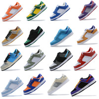 Nike Dunk SB Low Pro Running shoes Sapatos Baixo Authentic Sneakers Paris SP Brasil fora Conceitos VALENTIM x Mens Womens Esportes Skate Formadores