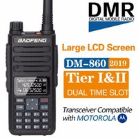 Baofeng DM-860 الرقمية Walkie Talkie Slot Tieri II Tier2 المزدوج الفرقة متوافق ل DMR الراديو المحمولة ترقية DM-1801