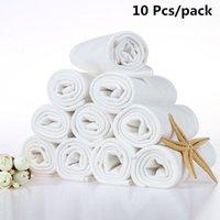 10 teile / paket Wiederverwendbare Bambusfaser Baumwollwindel Baby Umweltfreundliche Waschbare Einfügung Windeln Wickeleinlagen Tuch Windeln1