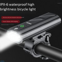 GIYO Bike Headlight T6 Led Bicycle Light Super Bright Rechar...