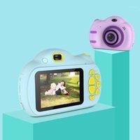 Цифровые камеры Детская камера Фотография 2,4 дюйма Мультфильм Детские игрушки Детский день рождения подарок для PO1