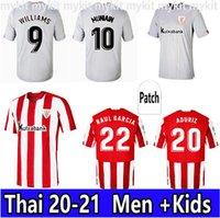 2021 Villalibre Bilbao Jersey de fútbol Atlético Williams MuniAn Aduriz Fútbol Camisas Raúl García Camiseta de Futbol Men Niños Uniformes