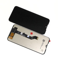 LCD Ekran Digitizer Motorola Moto E7 2020 6.5 inç Montaj Yok Çerçeve Cep Telefonu Yedek Parçalar Siyah
