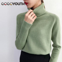 Pull gogoyouth femme 2018 automne hiver cachemire tricoté femme pull et pull féminin tricot jersey jumper pull femme1