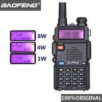 Walkie Talkie Baofeng UV-5R 8W 사냥 UHF VHF Radio Comunicador UV 5R 햄 UV5R Walkie-Talkie PCB Station1