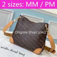M45355 NUOVO ODEON MM PM Designer Donne Donne Canvas Shoulder Body Body Bag Name Tag Charm Mini Multi Pochette Accessoires Cle Borsa Odéon M45352