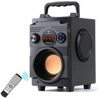 TOPROAD Bluetooth Speaker 20W estéreo portátil sem fio Subwoofer grande baixa Speakers Coluna de Apoio Rádio FM AUX Remote Control