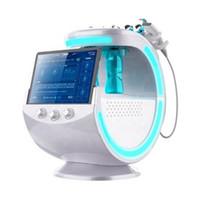 Новейший интеллектуальный Ice Blue RF Hydra DermaBrasion Machine Faceial Hydrodermabrasion Microdermoabrasion Salon Оборудование с анализом кожи