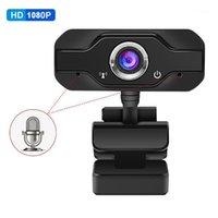 Webcams Webcam 1080 P Full HD USB Kamera Web Mini Kameraları Mikrofon Ile Webcamera PC Computer1 için