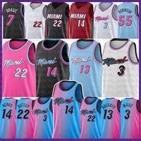BAM 13 Adebayo Tyler 14 Herro Jimmy Dwayne Dwyane 3 22 Butler Wade Basketball Jersey 2021 Goran 7 Drachen 55 Robinson Kendrick 25 Nunn Jersey