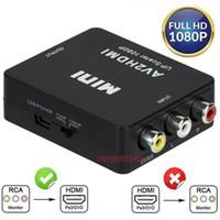 RCA a HDMI Convertitore Composite Av CVBS Video Adapter 720P 1080p Wii Nes SNES AV Adapter