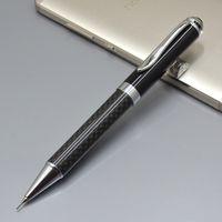 Classic 4 cores Fibras de Carbono Lápis Mecânico Escritório Artigos de papelaria Erasable Promoção Escrevendo canetas para presente de aniversário
