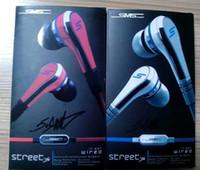 Auriculares de 50 centavos SMS Audio Mini auriculares Auriculares Auriculares con micrófono Street By Retail Pack para iPhone Samsung En stock