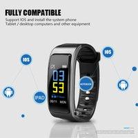 2020 Hot Y3Plus 2-In-1 Smart Bracelet Avec Blueteeth écouteurs montre Smart Watch 0.96 de fréquence cardiaque Wearable dispositifs de soutien Smartwatch