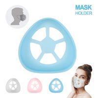 4 Styles 3D Silicone Mask Holder Bracket Lipstick Protection Stand Mask Inner Support For Enhancing Breathing Smoothly designer Masks
