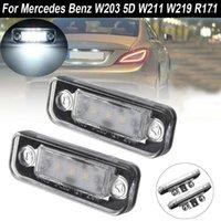 2x автомобиль светодиодные лицензионные пластины легкой лампы для - w203 5d w211 w219 r171 светодиодный номер номерной знак light1