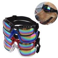 Yeni Çekici Pet Köpek Güneş Gözlüğü Güneş Gözlükleri Gözlük Gözlük Göz Giyim Koruma Giydirme Çok Renkli Su geçirmez Boom Cool1