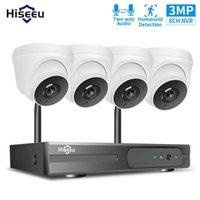 Kits de caméra sans fil HISEEU 3MP 1080P HD Système de sécurité IP Kit 8CH NVR NVR Outdoor Home Smart Home WiFi Vidéo Système de surveillance de vidéosurveillance1