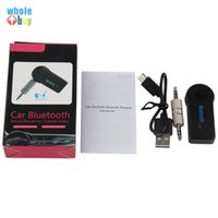 2 일 무선 블루투스 5.0 수신기 송신기 어댑터 3.5mm의 잭 자동차 음악 오디오 보조 A2DP 헤드폰 리시버 핸즈프리에서