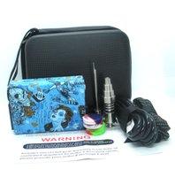 Portable E Dab Nail Kit Eléctrico Dab Rig E D Electronic Dabber Box PID Tc Control Titanium Quartz Nail E Cigarros Cigarros cera erva seca