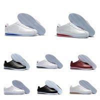 2020 Classic Cortez Chaussures de course Chaussures Casual Noir Blanc Rouge Bleu Léger Cortez Cuir Pour femmes Sports Sports Femmes Sneakers