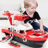 Çocuk Oyuncakları Simülasyon Parça Autertia Tekne Diecasts Oyuncak Araçlar Müzik Hikayesi Işık Oyuncak Gemi Model Oyuncak Araba Otopark Erkek Oyuncaklar LJ200930