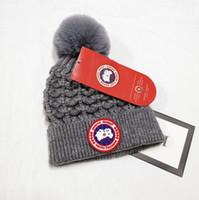 l'uomo le donne autunno inverno Beanie sport casuali maglia cappello da sci Gorro lane calde del progettista tappi Cappello di lana cranio