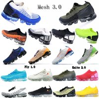 2020 Chaussures Knite 2.0 1.0 3.0 Fly Chaîne Mesh multi-couleurs CNY Triple Blanc runnning Chaussures Sneakers Entraîneur Sport ETUI